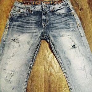 Rock Revival© Jeans 👖 36×32 Keifer Straight